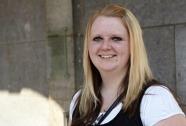 Carina Werck, als Klassenbeste auf Erfolgskurs (Foto: Nonnenmacher)