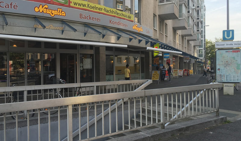 Herzlich willkommen im neu eröffneten Sitzcafé in Weidenpesch