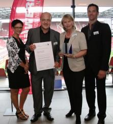 Ausbildungspreis der Handwerkskammer:<br>Bäckerei Newzella Top-Ausbildungsbetrieb 2012!