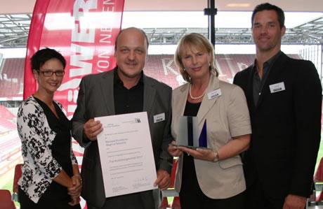 Bäckerei Newzella Top-Ausbildungsbetrieb 2012!