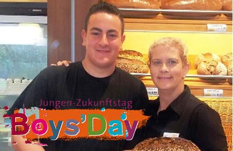 BOYS'DAY bei der Bäckerei Newzella 2013