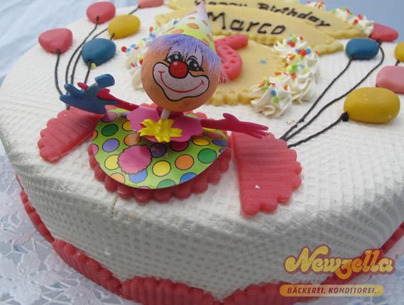 Geburtstagstorte von Newzella
