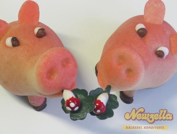 Silvesterschweinchen von Newzella