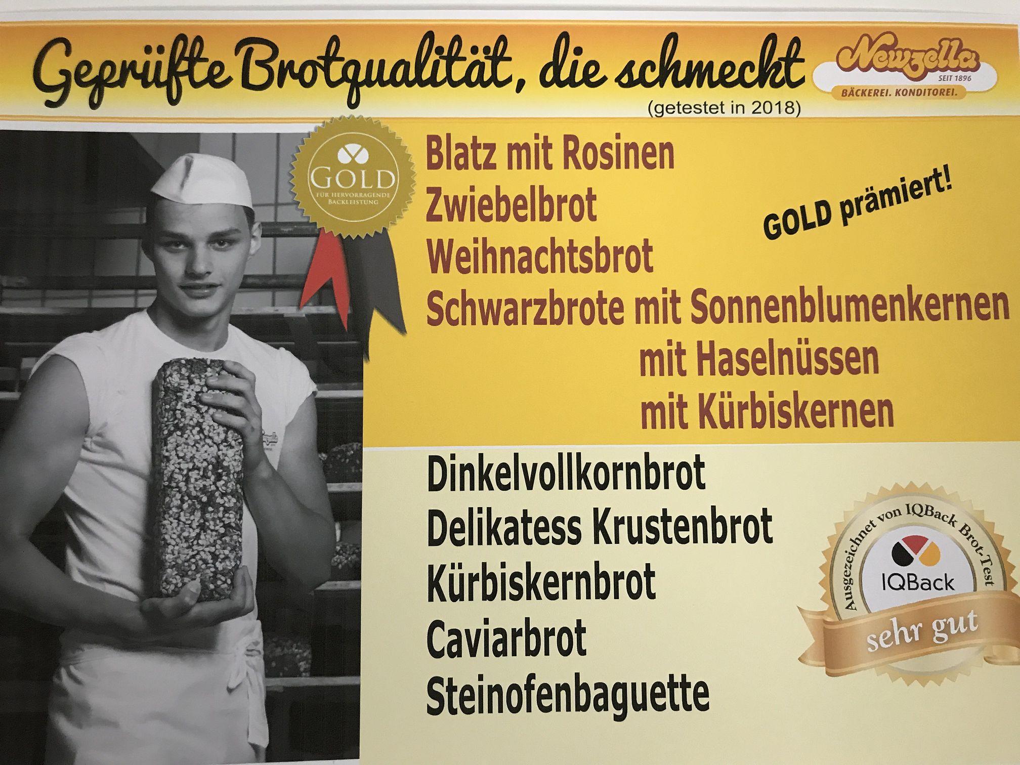Bäckerei Konditorei Newzella | Köstliche Backwaren und Torten in ...